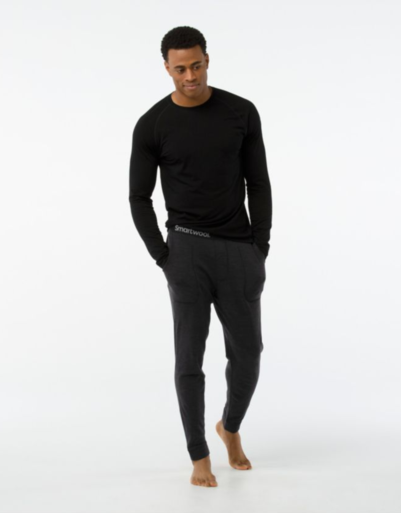 SMARTWOOL SmartWool Men's Merino250 Jogger Bottom Charcoal
