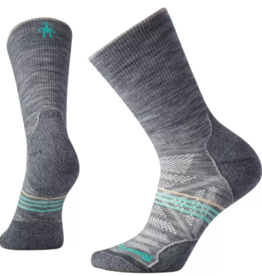 SMARTWOOL SmartWool Women's PhD Outdoor Light crew light gray Med
