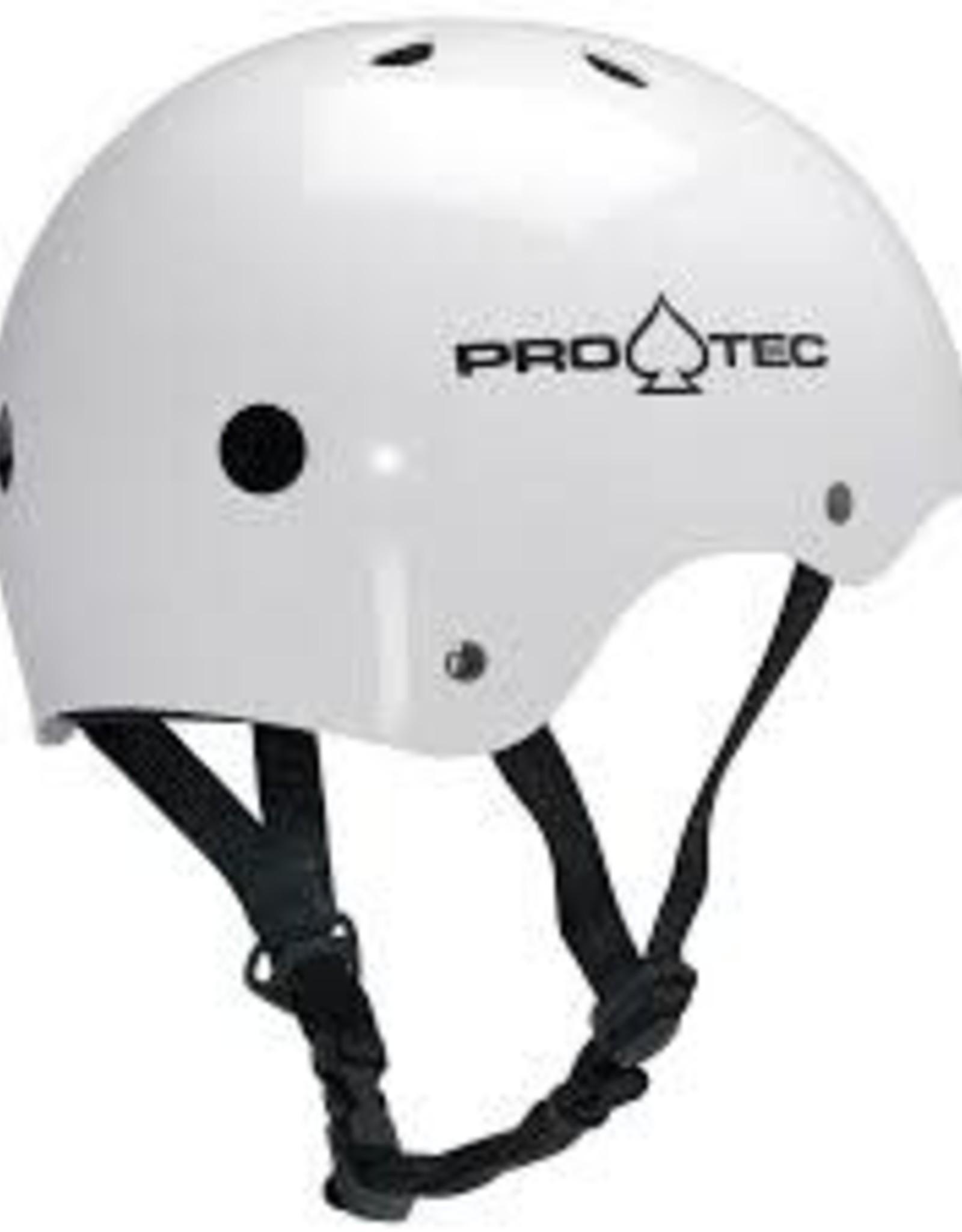 PRO TEC PRO-TEC-CLASSIC SKATE HELMET-GLOSS WHITE