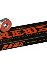BONES BONES BEARINGS-REDS Pack (SET OF 8)