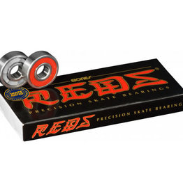 BONES BONES BEARINGS-REDS Pack (SET OF 8)