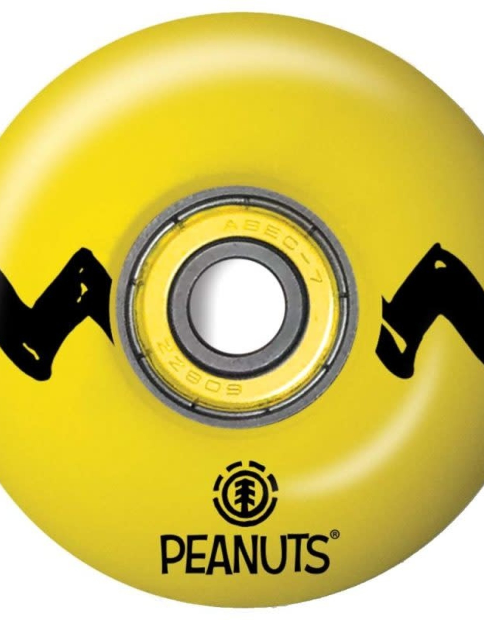 ELEMENT ELEMENT WHEELS PEANUTS CHARLIE 99A W/BEARINGS