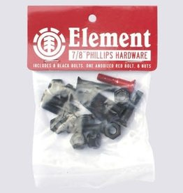 ELEMENT ELEMENT HARDWARE-SINGLE SET PHILLIPS -7/8