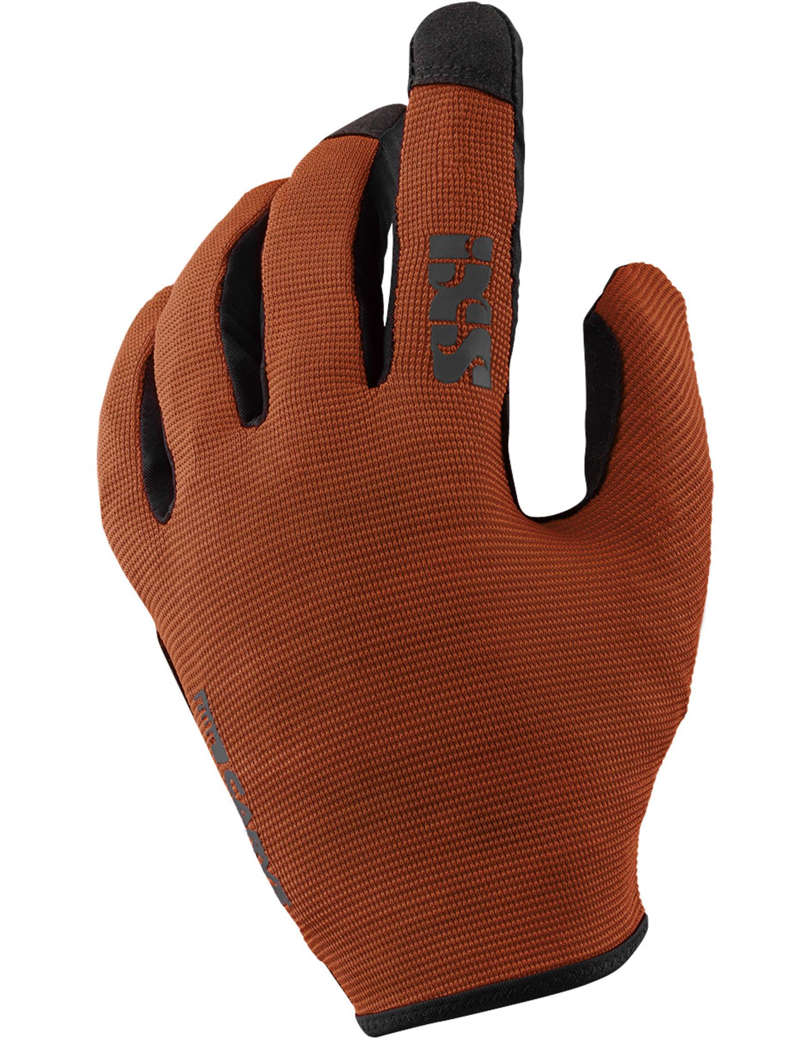 IXS IXS CARVE GLOVE- Burnt Orange