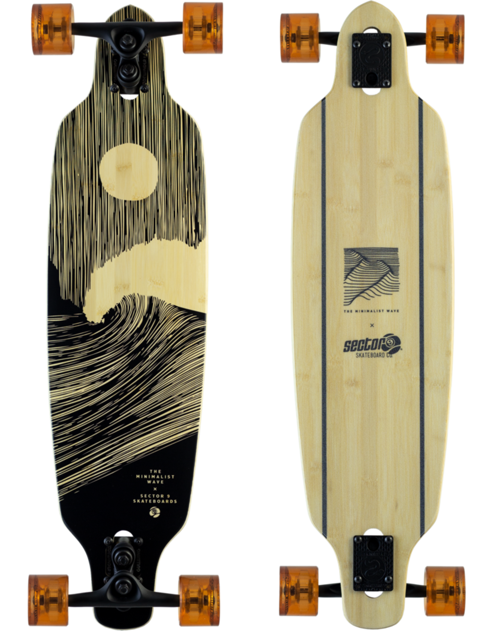 """SECTOR 9 COMPLETE - FULL MOON  SHOOTS (33.5"""" x 8.7"""")"""