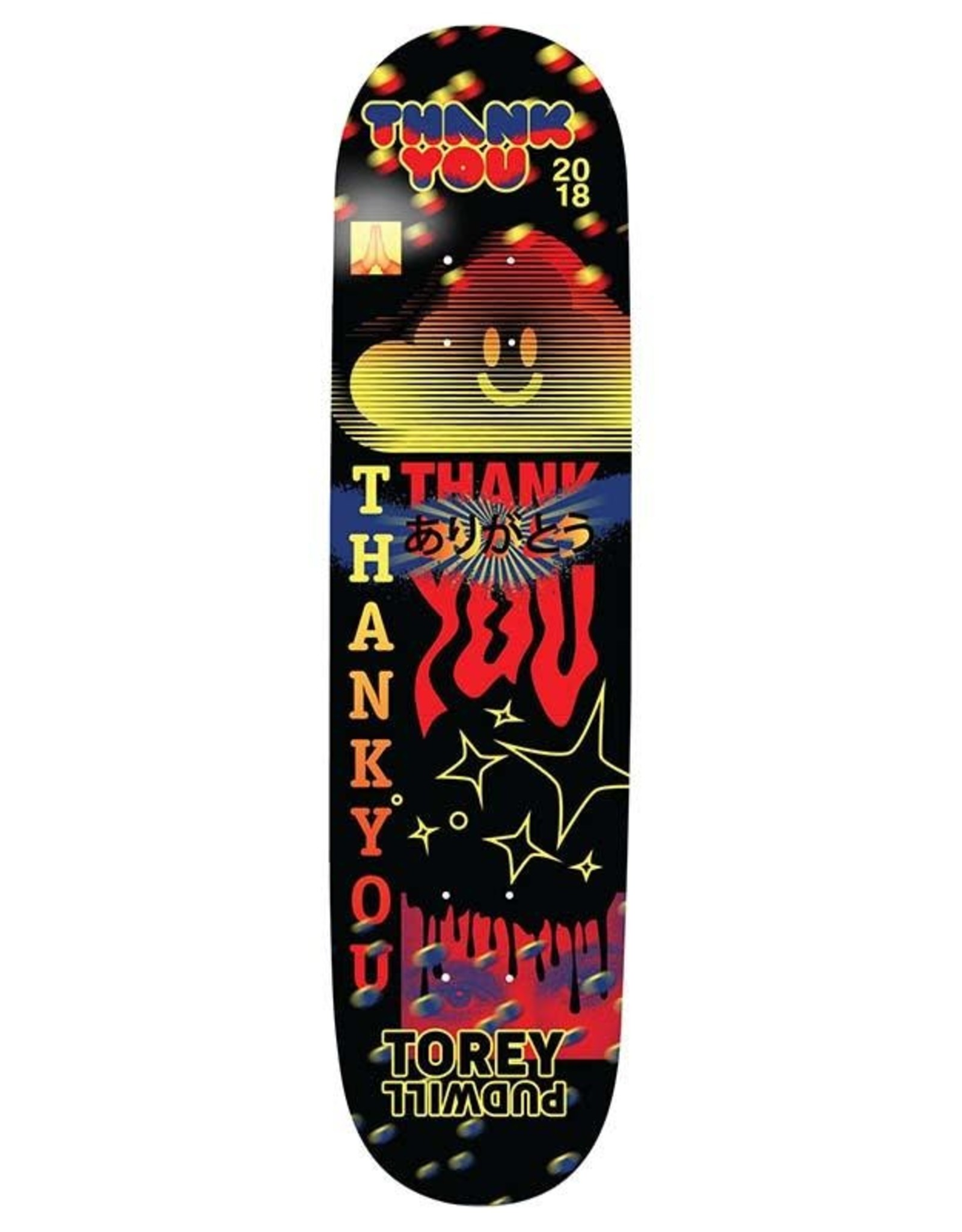 THANK YOU DECK PUDWILL FLY 7.75