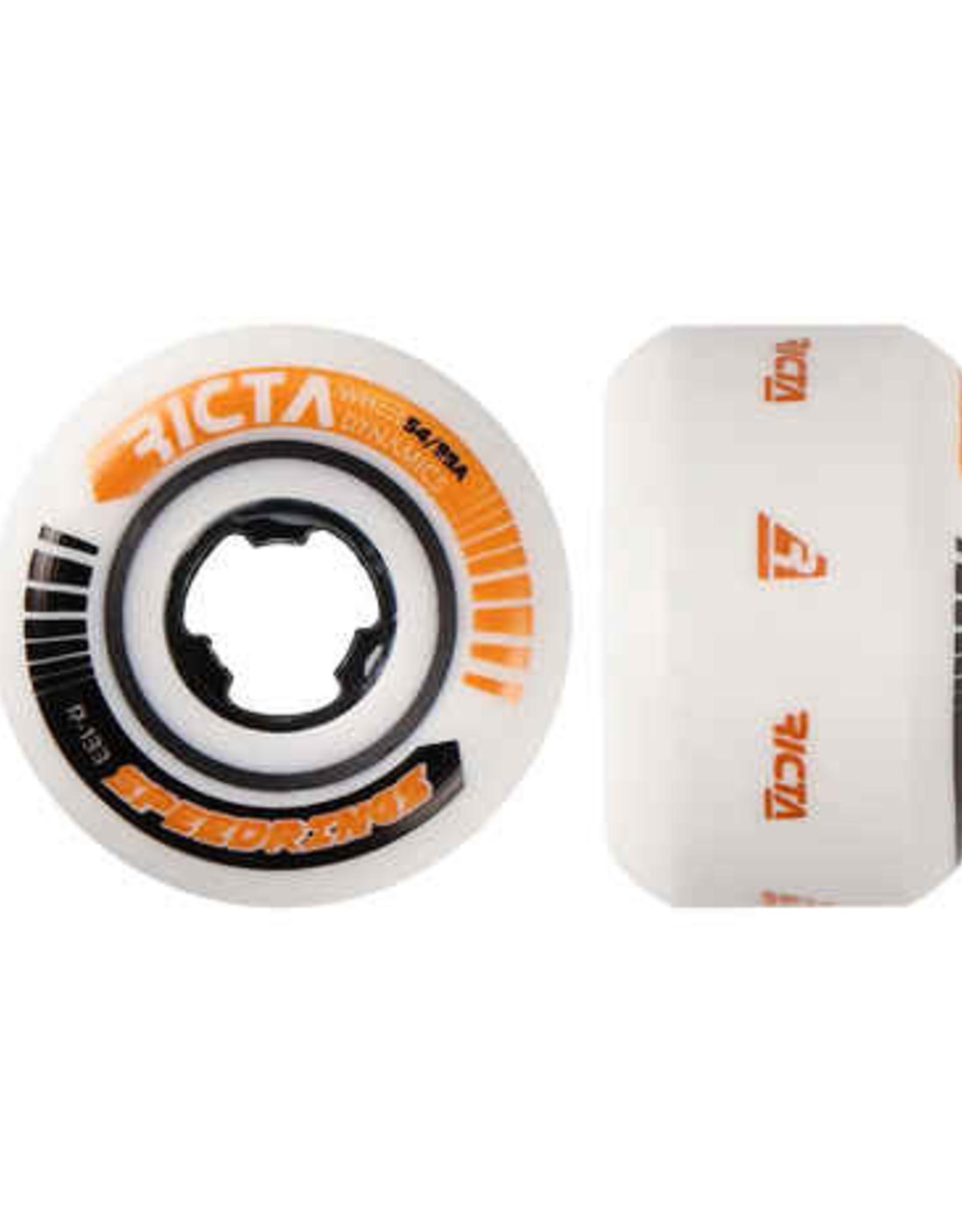 RICTA WHEELS SPEEDRINGS WIDE orange/black 99A 54MM