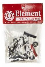 "ELEMENT ELEMENT HARDWARE - SINGLE SET (PHILLIPS) (1"")"