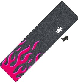 GRIZZLY GRIP SHEET FARRENHEIT PINK FLAMES