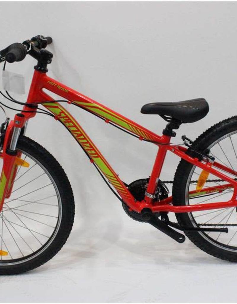 SPECIALIZED 17 SPECIALIZED HOTROCK 24 -Red/Green