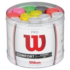Wilson Pro Overgrip Comfort, 60 Pack Bucket