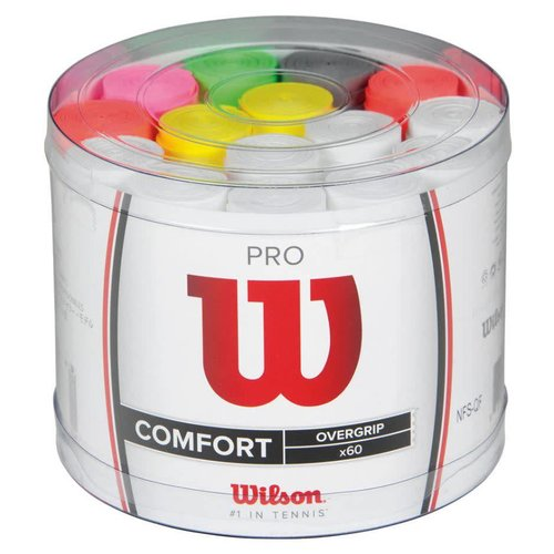 Wilson Wilson Pro Overgrip Comfort, 60 Pack Bucket