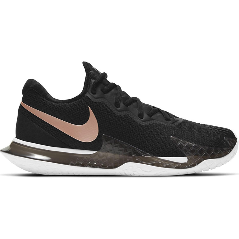 Nike Women's Nike Air Zoom Cage 4 HC, Black/MTLC Red Bronze-White (CD0431 006)