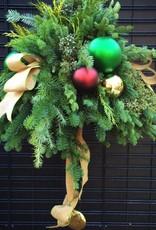 December 2nd, Christmas Evergreen Basket