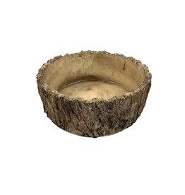White Oak Low Planter  9 Inch