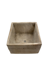 Bywood Low Square Pot - 6 Inch