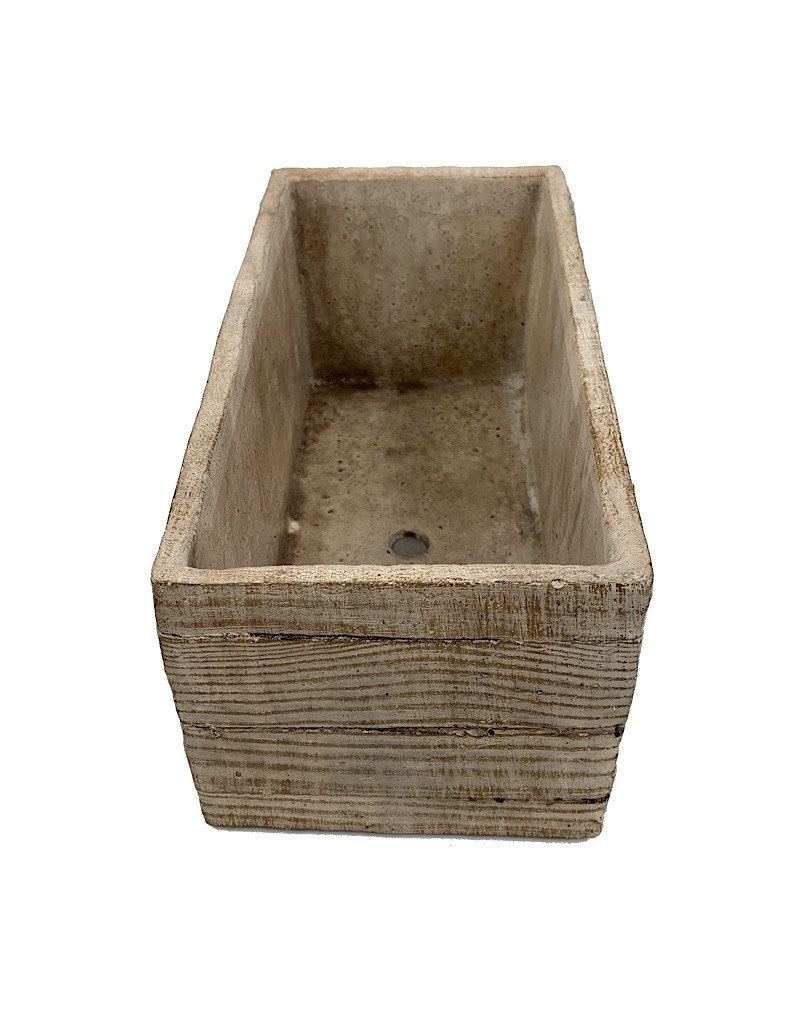 Bywood Rectangle Pot - 6 Inch