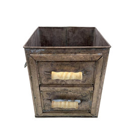 Champagne Drawer Planter W/ Handles - Medium