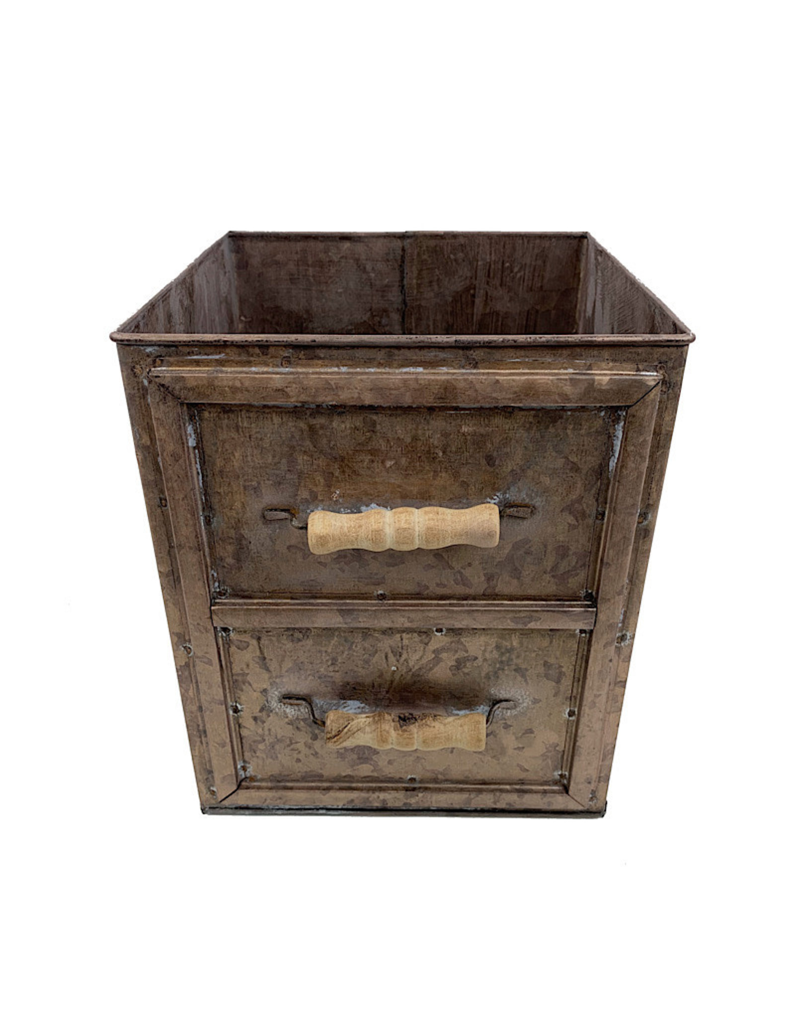 Champagne Drawer Planter W/ Handles - Large