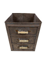 Champagne Drawer Planter W/ Handles  Extra Large