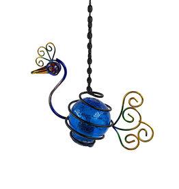Solar Bird Lantern - Peacock