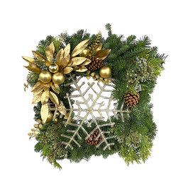 Designer Holiday Wreath 24 Inch #2