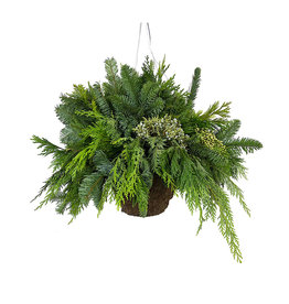 Hanging Holiday Basket Small