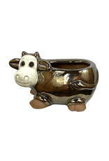 Metallic Animal Pot