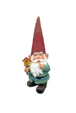 Gnome Holding Birdhouse