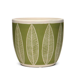 Willow Leaf Pot
