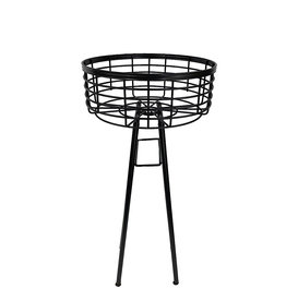 Wire Basket Plant Stand 24 Inch