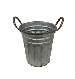 Metal Milk Pail 9 Inch