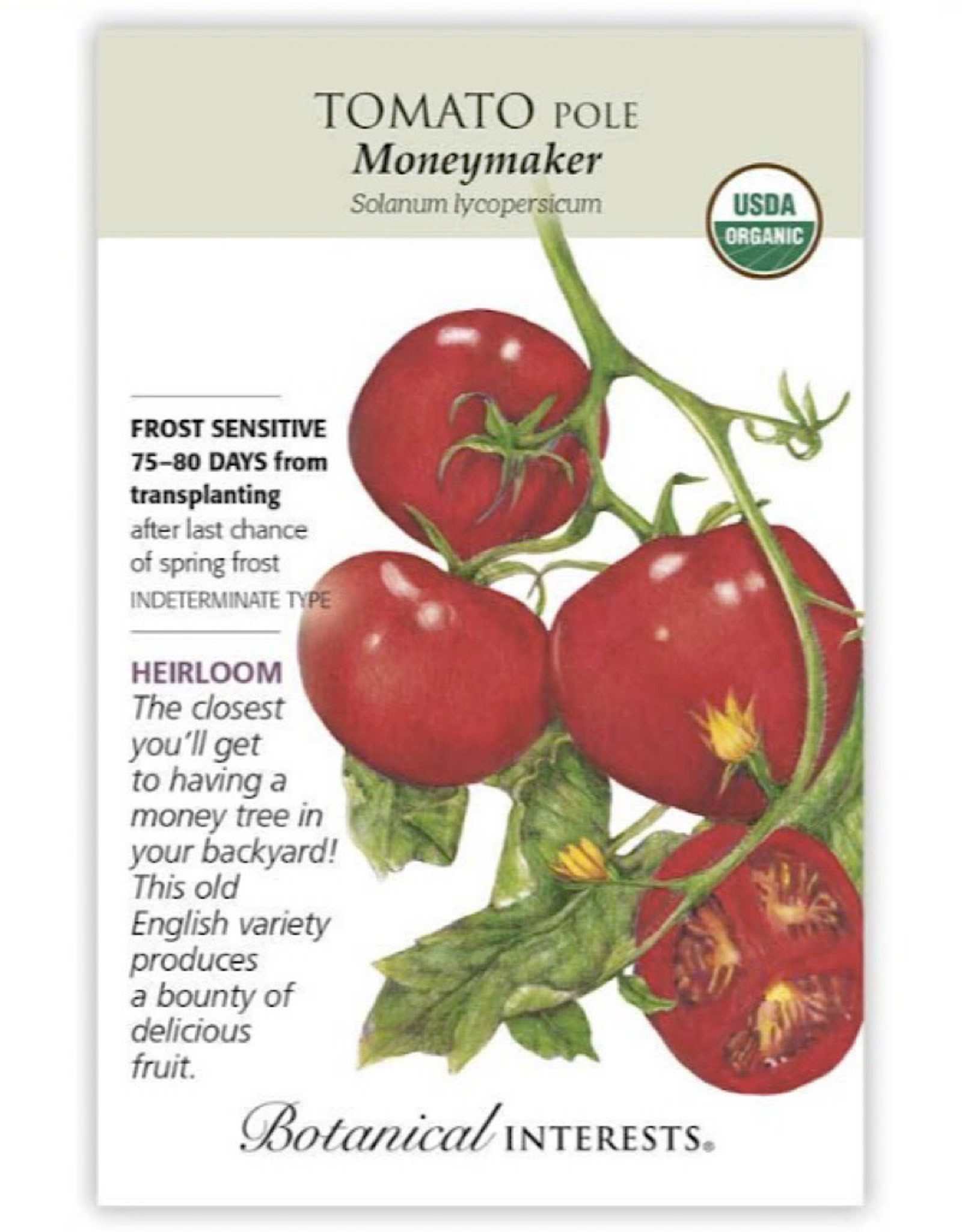 Tomato 'Moneymaker' Seed Pack