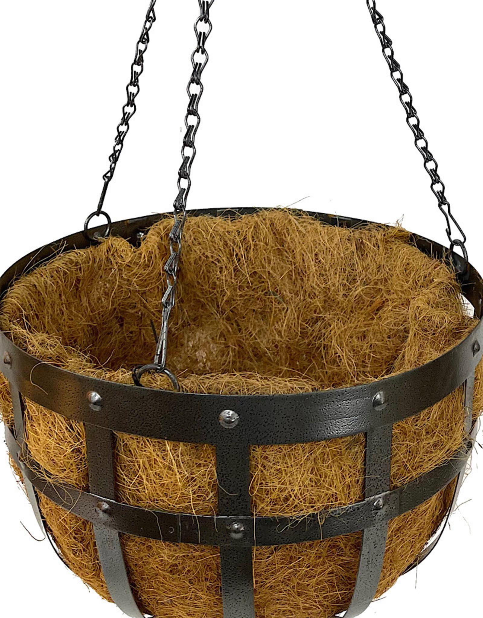 Industrial Hanging Basket 14 Inch