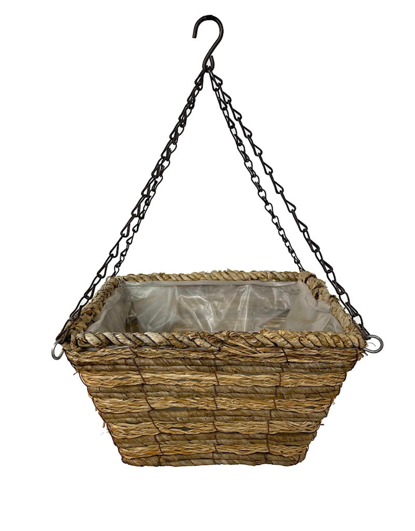Square Woodland Hanging Basket