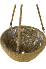 Nautical Rope Hanging Basket 12 Inch