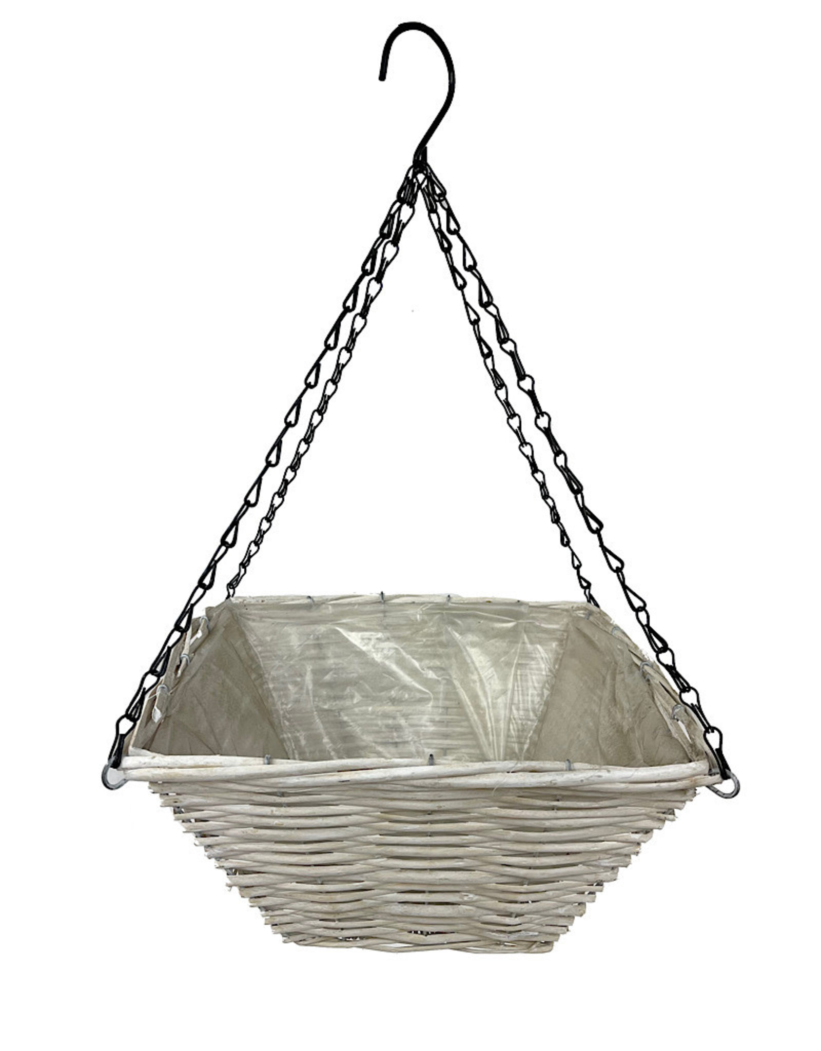 Supermoss Wood Woven Basket 12 Inch