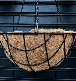 Diamond Coco Hanging Basket- 14 inch