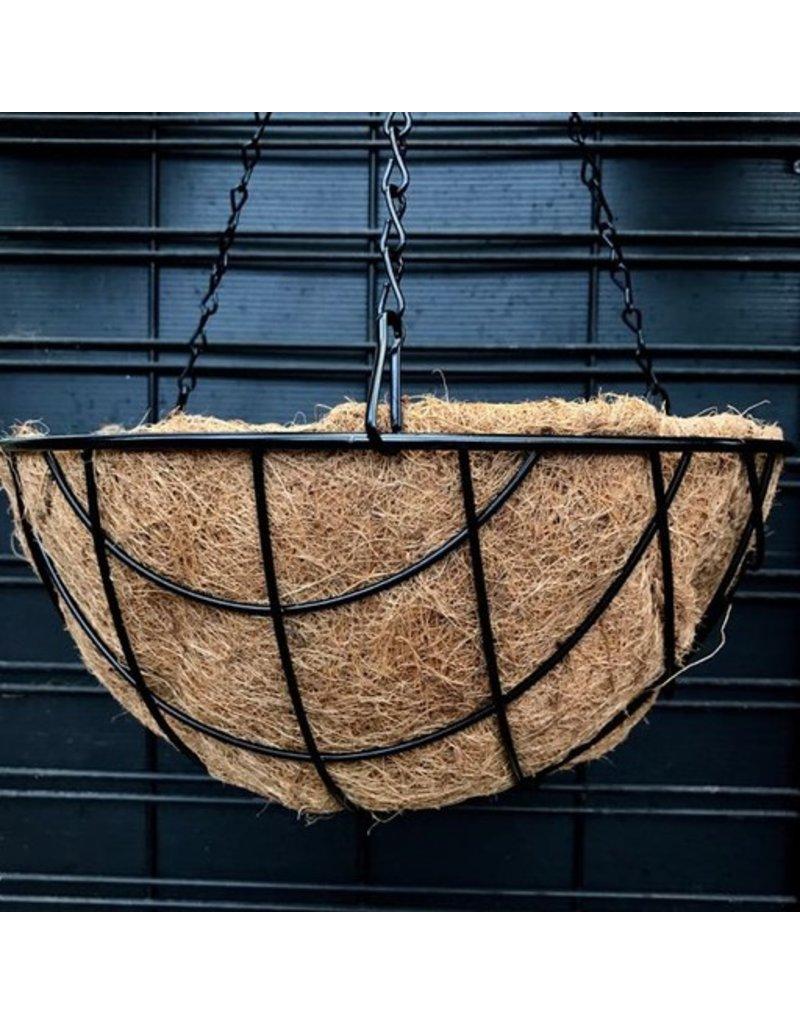 Diamond Coco Hanging Basket- 14 inch