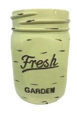 Mason Jar Pot - Green - Large