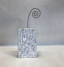 Love Photo Block-Colorable