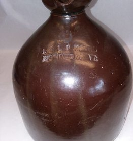 Brown Glaze 1 Gallon Stoneware Jug