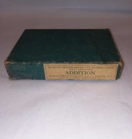 Addition Flash Cards in Original Box, Complete, c.1950