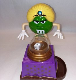 "Green M&M Swami Candy Dispenser, 8.25"", 2008"