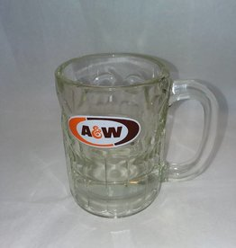 "A&W 8 Oz Root Beer Mug, 4.5"" tall, E. 1990's"