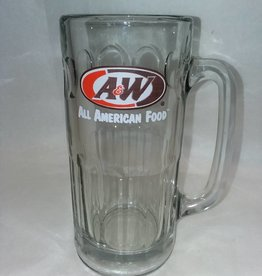 A&W Root Beer Tall Mug, 12 Ounce, 1990's