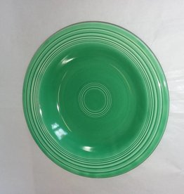 "Early Fiesta Green Soup Bowl/Deep Plate, 8.5"", c.1940"