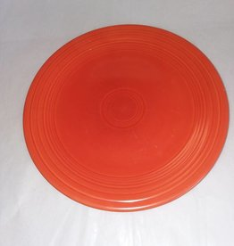 "Early Fiesta Red Luncheon Plate, 9.5"", E.1940"