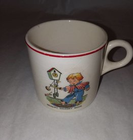 Nursery Rhyme Cup, Child's Size, E.1900's, As Is