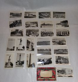 Miniature Real Photo Post Card Pack, Baltimore, 25 Photos, c.1940's